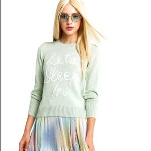 Wildfox Lets Sleep In Lou Sweater